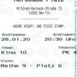 Kinokarte One Piece: Stampede
